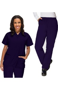VietNam Halimex medical fashionable uniforms company receive lion king scrub top a hospital uniform white for a doctor, a large, patient number of workers