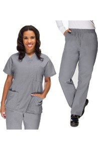 VietNam Halimex medical fashionable uniforms company receive cheap scrubs for sale a hospital uniform white for a doctor, a large, patient number of workers