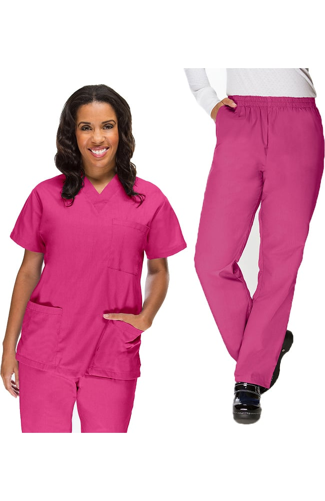 medical scrub set uniforms