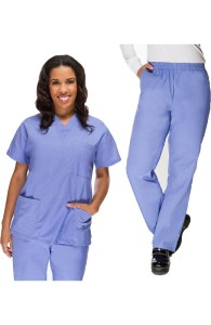 VietNam Halimex medical fashionable uniforms company receive yellow scrub top a hospital uniform blue for a doctor, a large, patient number of workers