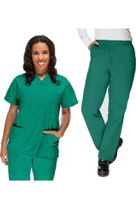 VietNam Halimex medical fashionable uniforms company receive medical clothing store near me a hospital uniform green for a doctor, a large, patient number of workers
