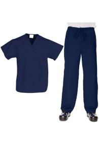 VietNam Halimex medical fashionable uniforms company receive halimex mens scrubs a hospital uniform white for a doctor, a large, patient number of workers