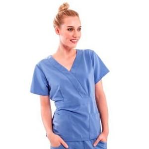 Halimex produces hospital uniforms Stylish Scrubs Nursing Lavender 82% cotton in Viet Nam