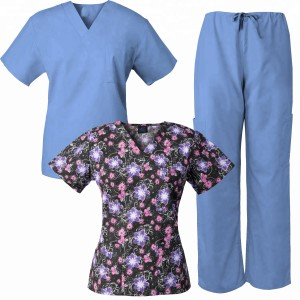 Halimex medical scrubs uniforms, scrubs in vietnam