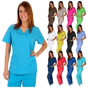 Halimex nurse scrub dress, scrubs in vietnam