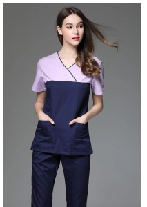 medical scrubs spandex