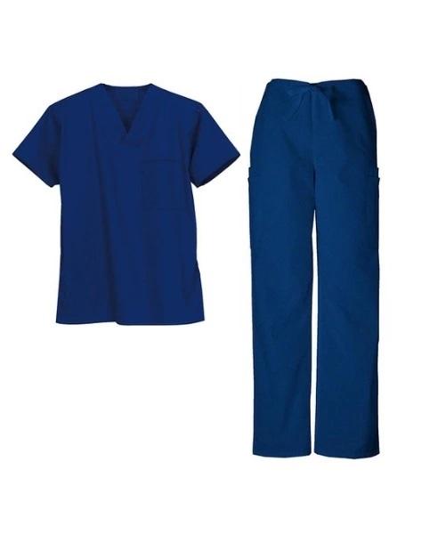 printed scrub suit